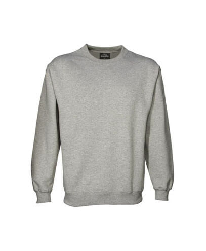 CSIK Kids Crew Neck Sweatshirt - Grey Marle