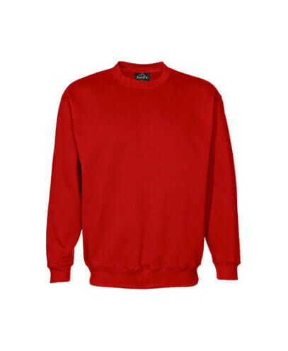 CSIK Kids Crew Neck Sweatshirt - Red