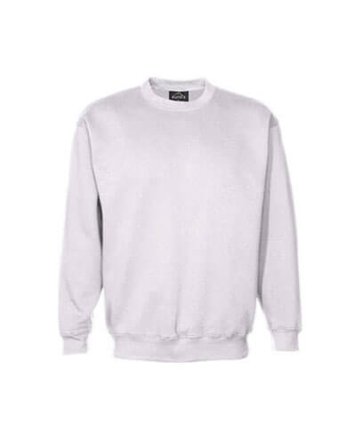 CSIK Kids Crew Neck Sweatshirt - White