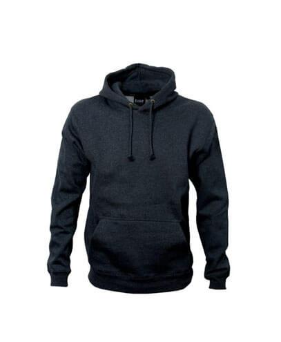 HSI Adults Pullover Hoodie - Black Marle