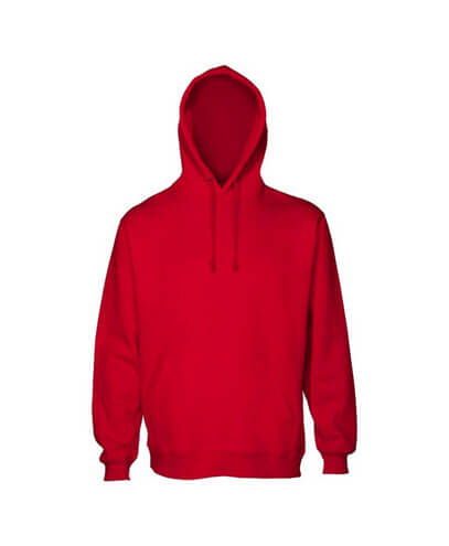 HSI Adults Pullover Hoodie - Red