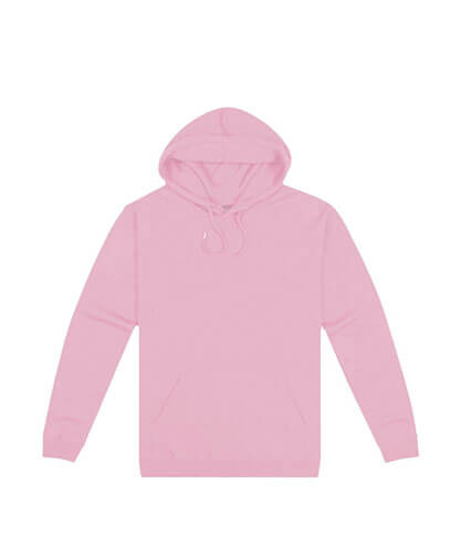 HSI Adults Pullover Hoodie - Pale Pink