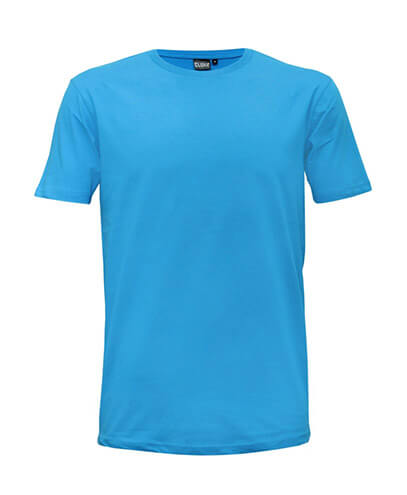 T101 Mens Outline Tee - Aqua