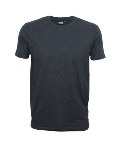 T101 Mens Outline Tee - Black Marle