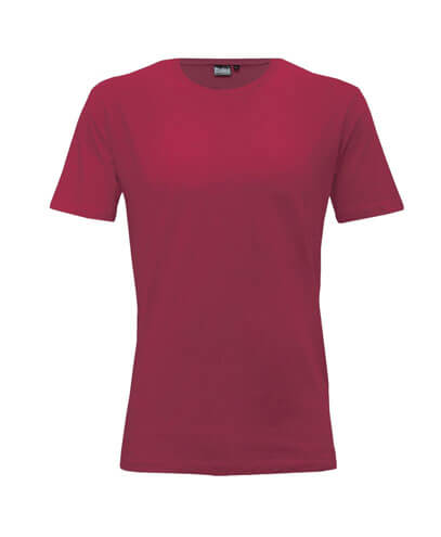 T101 Mens Outline Tee - Maroon