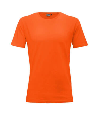 T101 Mens Outline Tee - Orange