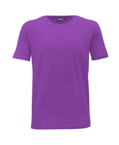 T101 Mens Outline Tee - Purple