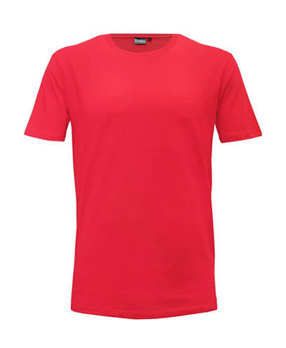 T101 Mens Outline Tee - Red