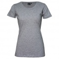 T201 Womens Silhouette Tee - Grey Marle