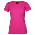 T201 Womens Silhouette Tee - Hot Pink