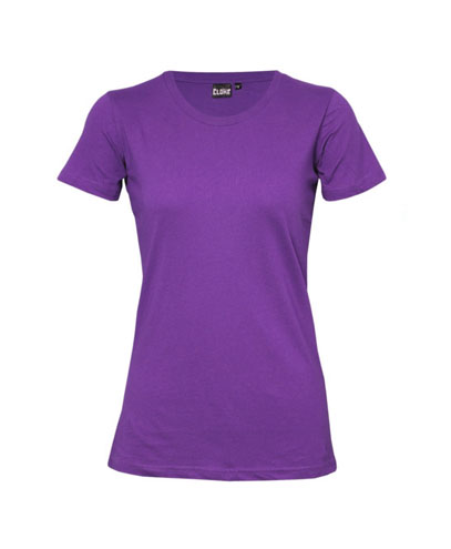 T201 Womens Silhouette Tee - Purple