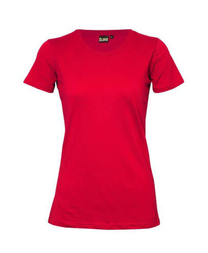 T201 Womens Silhouette Tee - Red