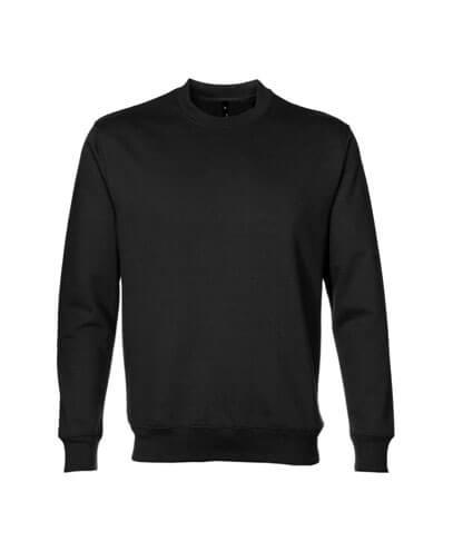 TCR 360 Adults Crew Neck Sweatshirt - Black