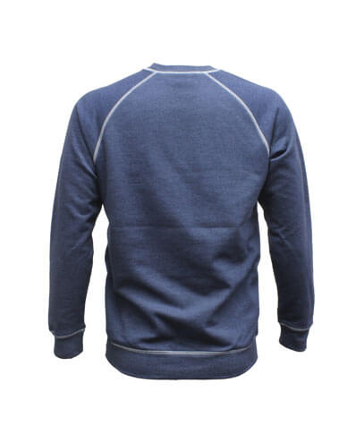TTC Adults Two-Tone Crew - Back View