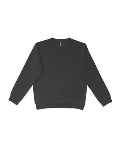 UCC320 Adults Broad Crew Sweatshirt - Black