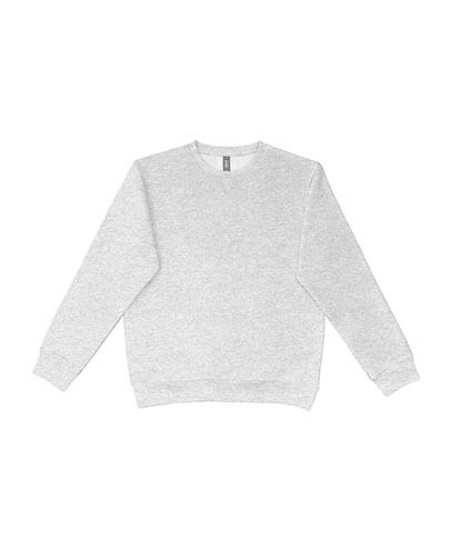 UCC320 Adults Broad Crew Sweatshirt - Heather Grey
