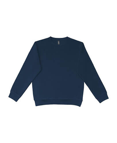 UCC320 Adults Broad Crew Sweatshirt - Navy