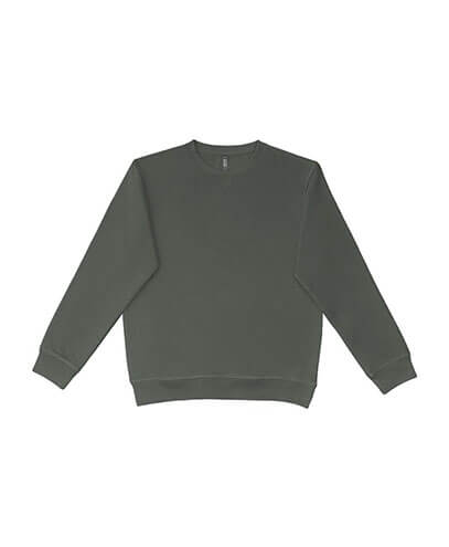 UCC320 Adults Broad Crew Sweatshirt - Smoke