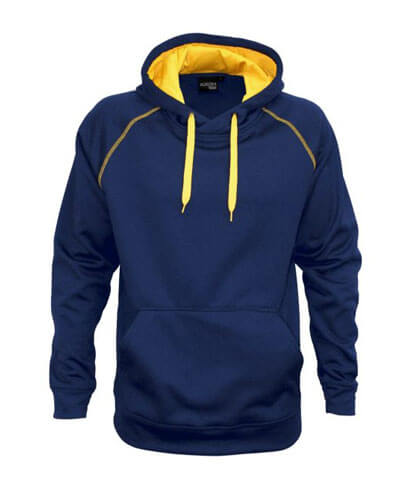 XTH Adults Performance Hoodie - Navy/Gold