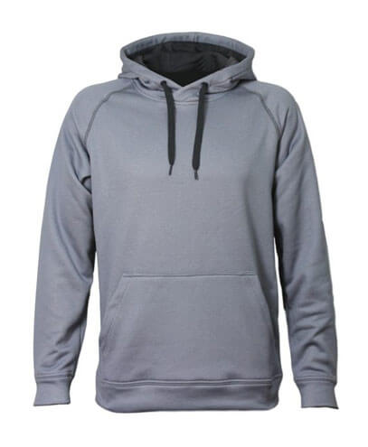 XTH Adults Performance Hoodie - Silver Marle