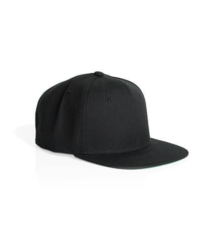 1101 Trim Snapback Cap - Black