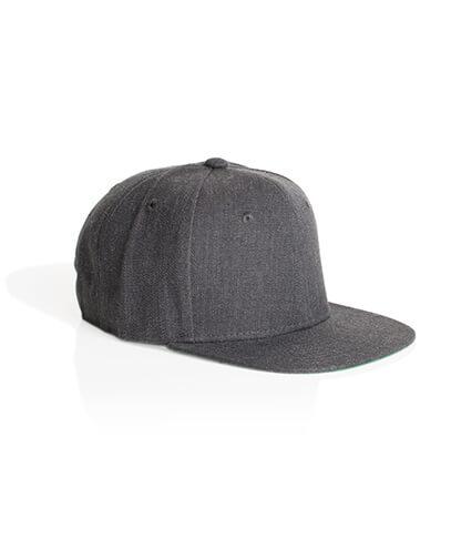 1101 Trim Snapback Cap - Dark Grey