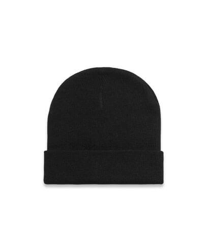 1107 Cuff Beanie - Black