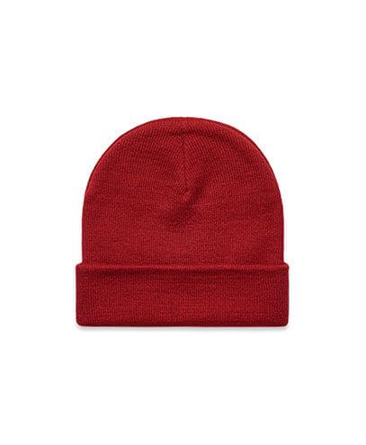 1107 Cuff Beanie - Cardinal