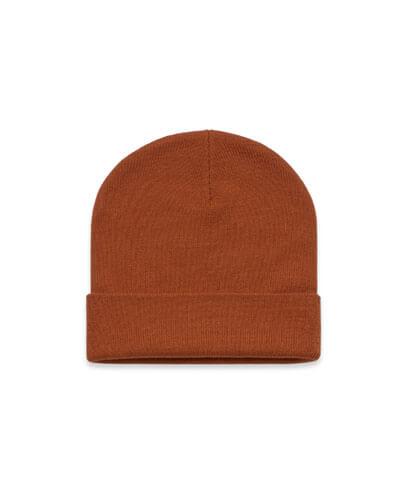 1107 Cuff Beanie - Copper