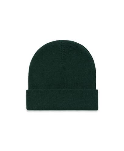1107 Cuff Beanie - Pine Green