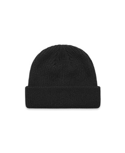 1120 Cable Beanie - Black