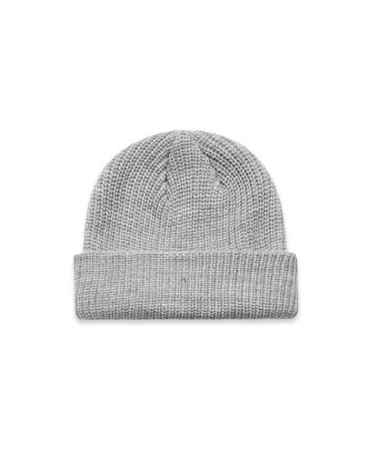 1120 Cable Beanie - Grey Marle