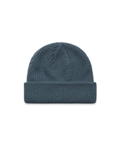 1120 Cable Beanie - Petrol Blue
