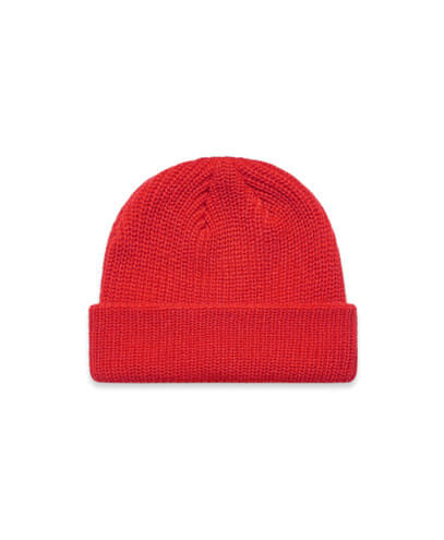 1120 Cable Beanie - Red