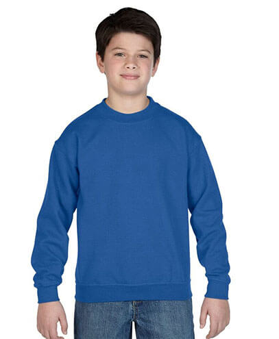 18000 Kids Basic Sweatshirt - Blue