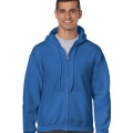 18600 Mens Basic Zip Hoodie - Royal