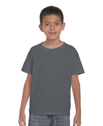 5000B Kids Basic T-shirt - Charcoal