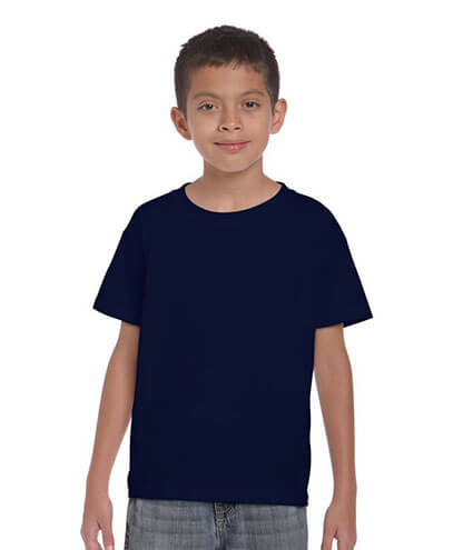 5000B Kids Basic T-shirt - Navy