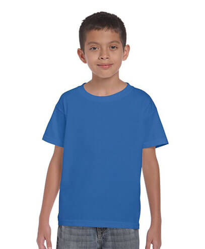 5000B Kids Basic T-shirt - Royal Blue