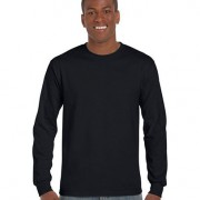 2400 Adults Basic Long Sleeve T-shirt - Black