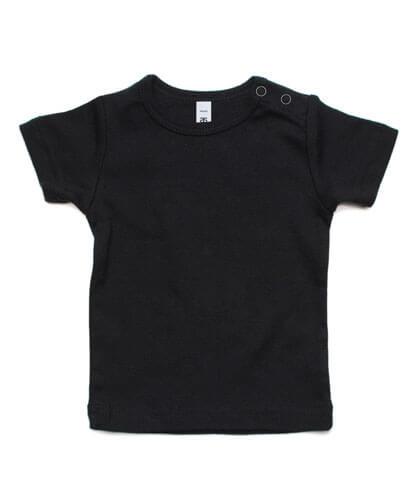 3001 Infant Wee T-shirt - Black