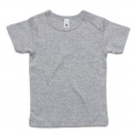 3001 Infant Wee T-shirt - Grey Marle