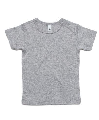 3001 Infant Wee T-shirt - Grey Marle