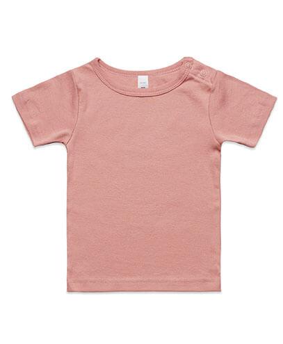 3001 Infant Wee T-shirt - Rose