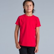 3005 Youth Red Tee - Worn