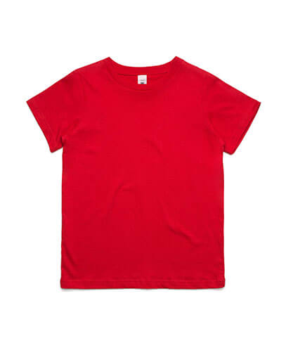 3005 Youth Tee - Red