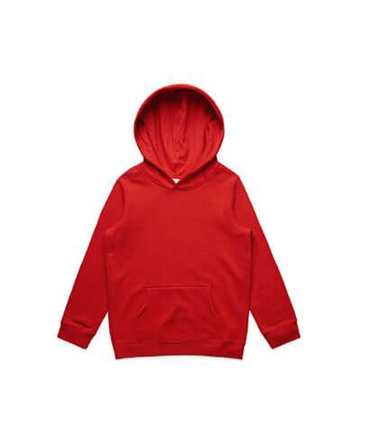 3032 Kids Supply Hoodie - Red