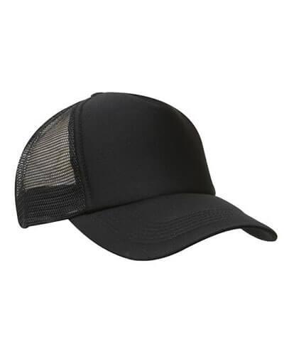 557fe1f8 3803 Mesh Trucker Cap - Black 3803 Mesh Trucker Cap – Black