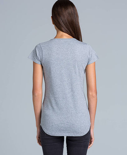 4008 Womens Mali Scoop T-shirt - Back