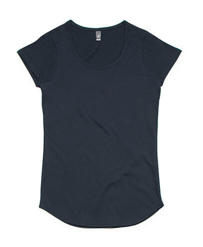 4008 Womens Mali Scoop T-shirt - Navy